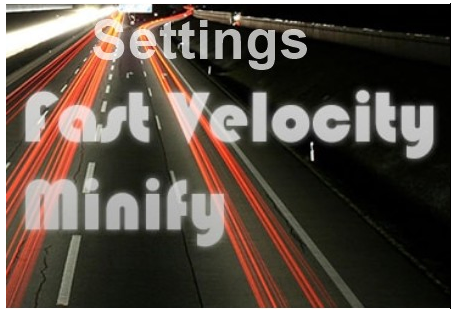Cara Setting Fast Velocity Minify WordPress