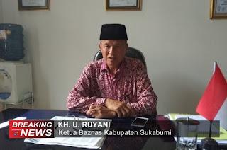 Ketua Baznas Kabupaten Sukabumi, U Ruyani