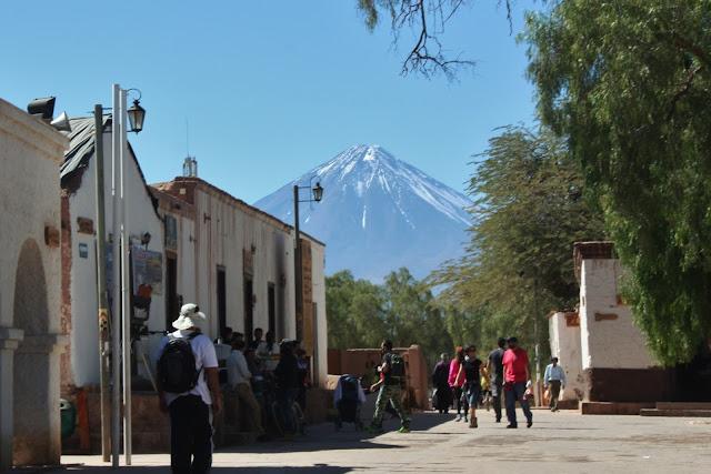 San Pedro de Atacama e o Vulcão Licancabur