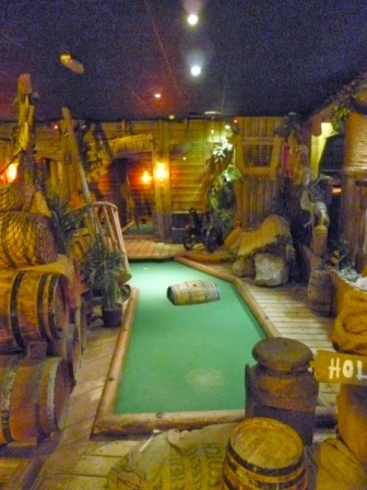 Indoor Crazy Golf in Whitby
