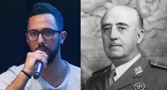 Valtònyc destroza a la derecha tras mofarse del cadáver de Franco
