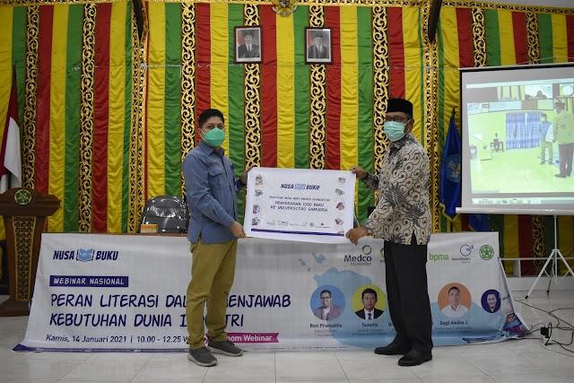 Dukung Peningkatan Literasi, Medco Salur Seribu Buku Untuk Kampus