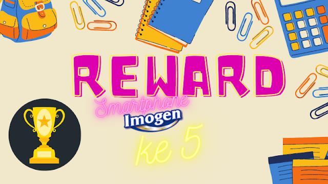 reward hape kelima imogen