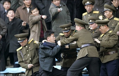 Arrest, North Korea