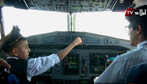 Two pilots suspended for letting a 10-year-old fly a plane