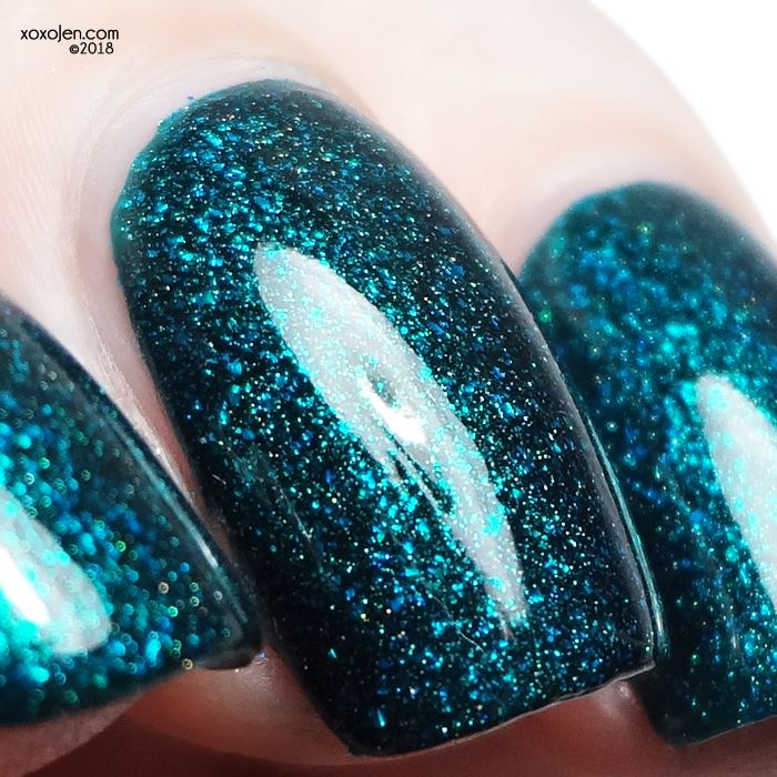 xoxoJen's swatch of Stached Falling From the Sky