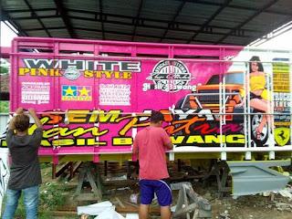 sticker truck 6