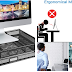 Monitor Stand Riser - Dual Stack Pull Out Storage Drawer Mesh Metal Desk Organizer Compatible with Computer Monitor