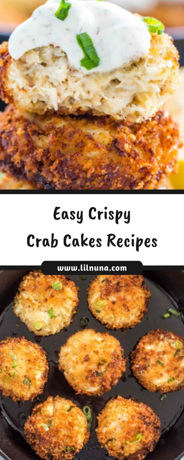 Easy Crispy Crab Cakes Recipes
