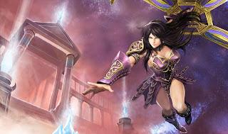 Chinese Warrior Princess Sivir Skin