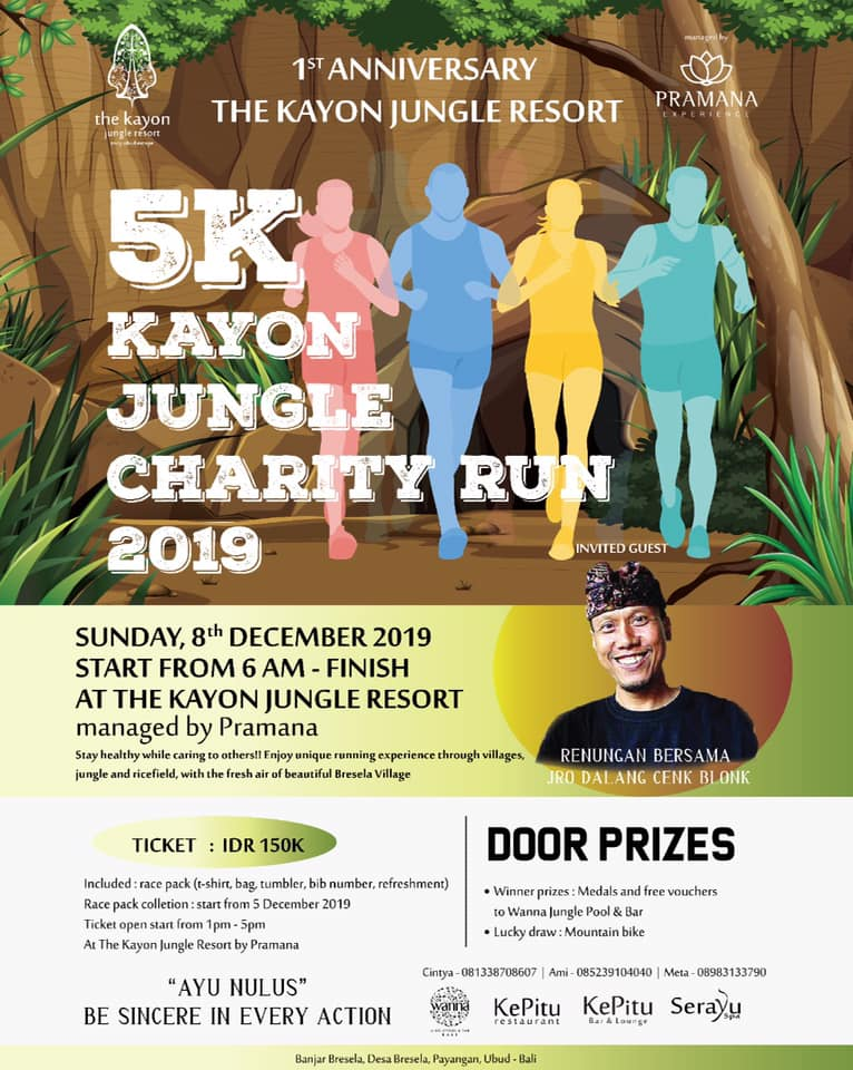 Kayon Jungle Charity Run • 2019