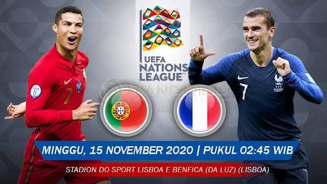 Prediksi Portugal Vs Prancis, Minggu 15 November 2020 Pukul 02.45 WIB @ Mola TV