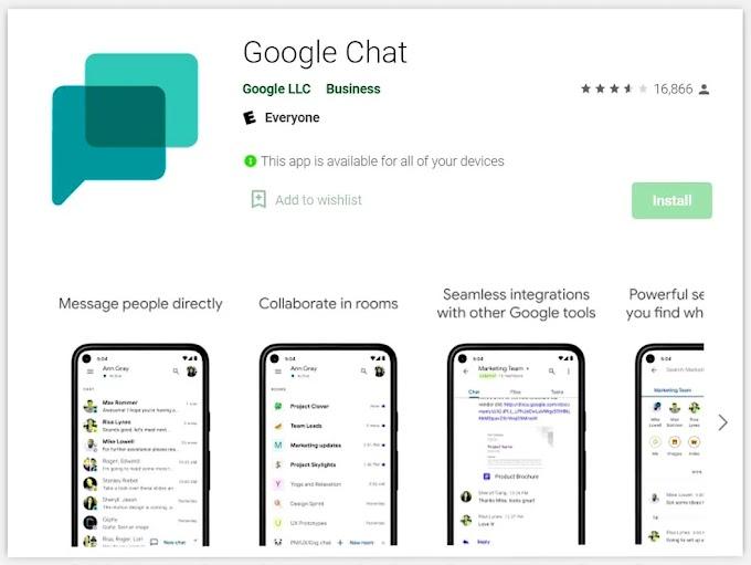 Google Chat app - आ गया गूगल का चैट एप्प