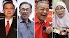 'Tak jumpa kat office, cari pula di rumah' - Azizah, Anwar & Guan Eng pergi ke rumah Mahathir