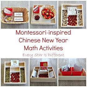Montessori-inspired Chinese New Year Math Activities