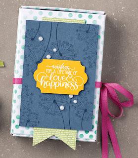 Stampin' Up! Dandelion Wishes Mini Paper Pumpkin Box