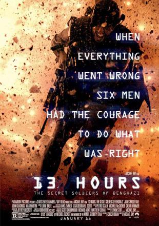 13 Hours: The Secret Soldiers Of Benghazi 2016 BRRip 720p Dual Audio In Hindi English ESub