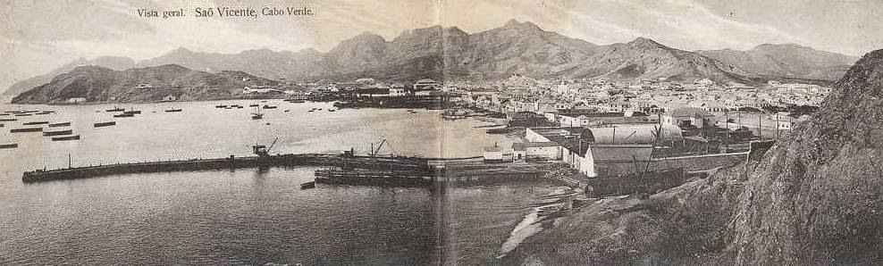 Vista Geral. São Vicente, Cabo Verde.