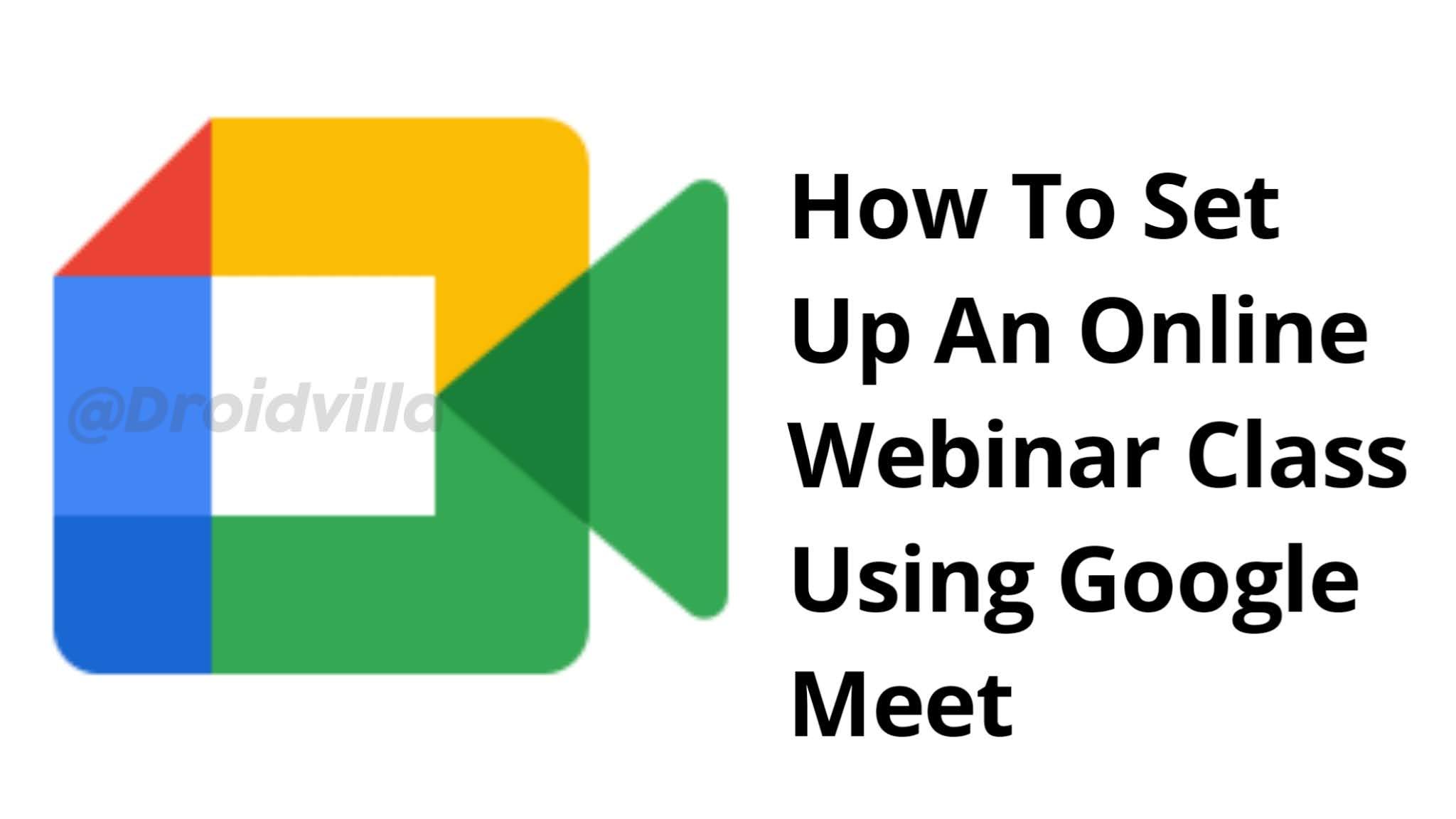 New google meet logo