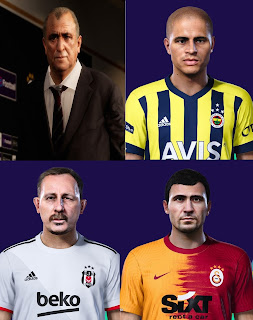 PES 2021 Facepack Turkish Managers by PES Fan