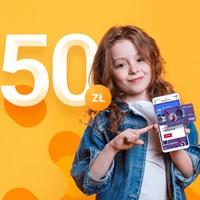 50 zł na karcie Goodie za Konto 360° Junior w Banku Millenniu