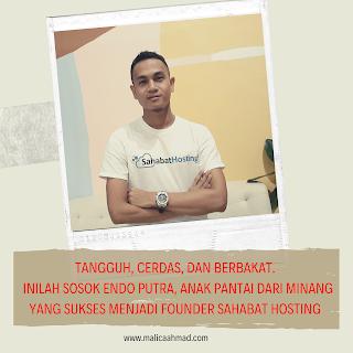 Sahabat hosting adalah Penyedia layanan hosting berkualitas dengan dukungan infrastruktur Cloud dan SSD super cepat.