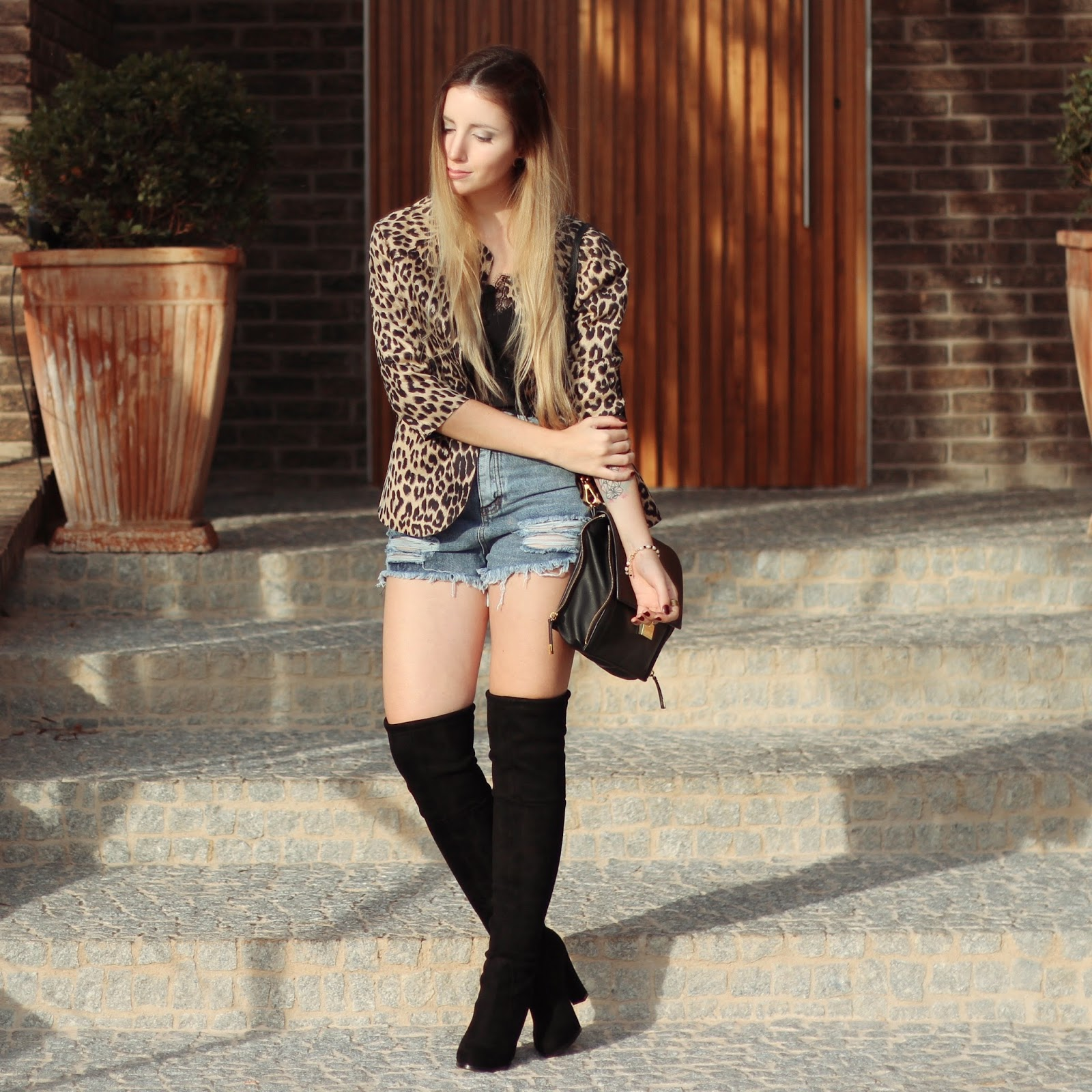 Look do dia Bota Over the knee