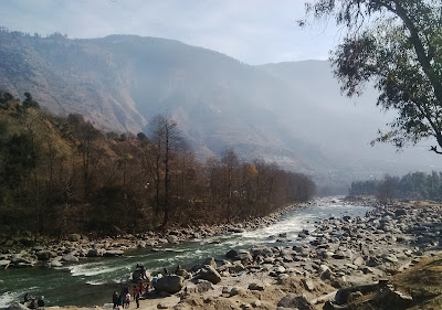 Green water River Kasol