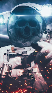No Life In Space Mobile HD Wallpaper