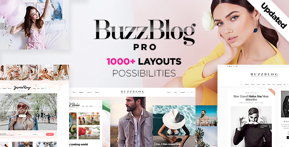 BuzzBlog v4.1 Wordpress Theme Free Download