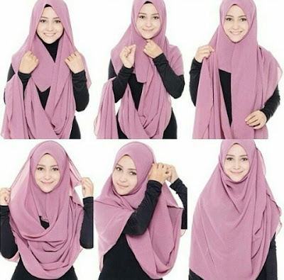 Cara Menggunakan Jilbab Terbaru 2016