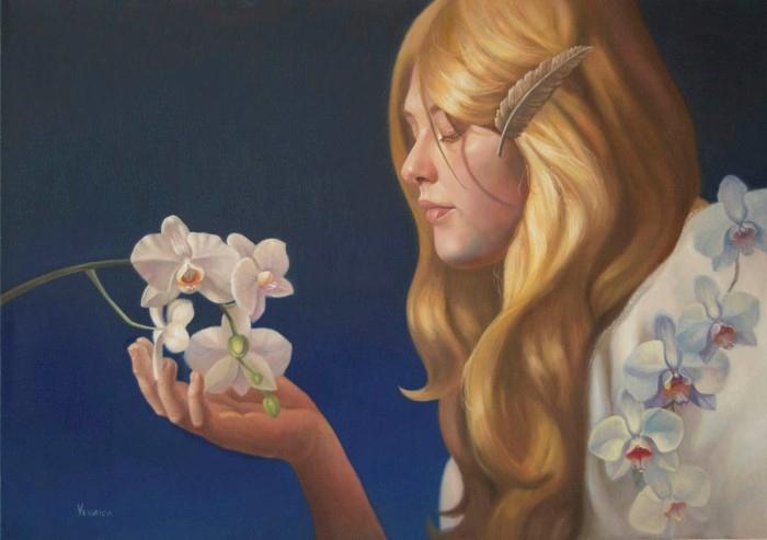 Американский художник. Veronica Winters