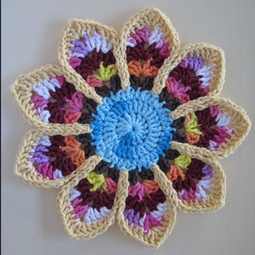 Ripple Potholder - Free Pattern