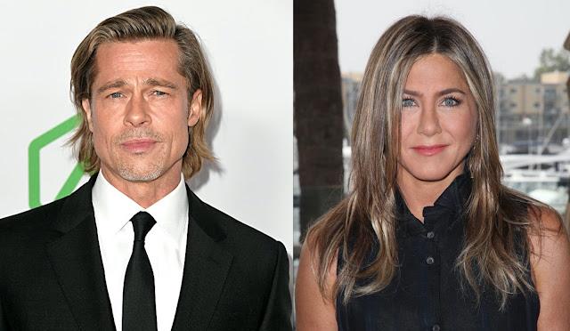 Benarkah Brad Pitt dan Jennifer Aniston Nikah Diam-Diam?