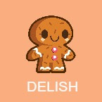 delish book icon