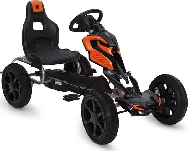 BYOX Картинг кола с педали и гуми PVC ADRENALINE 1504