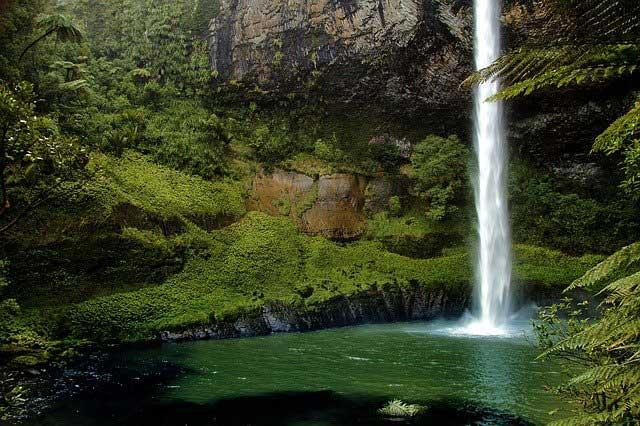 Cachoeira Bridal Veil, Nova Zelândia