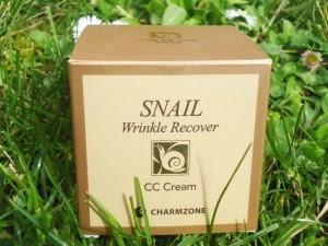 [Charmzone] La CC cream à la bave d'escargot