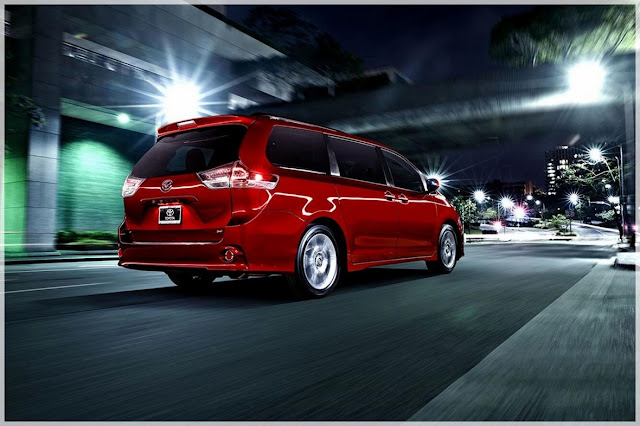 TOYOTA SIENNA ALL WHELL CONCEPT DRIVE 2021