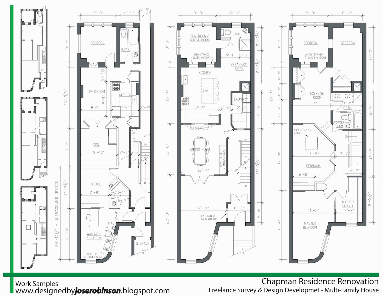 Designed By Jose Robinson : Design Development Samples
