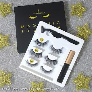 "Eyeliner magnético para pestañas postizas magnéticas...¿funciona"""