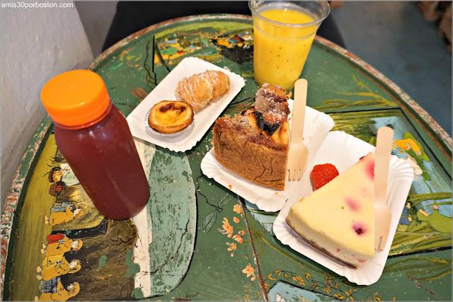 Merienda en la Cafetería De Laatste Kruimel en Amsterdam