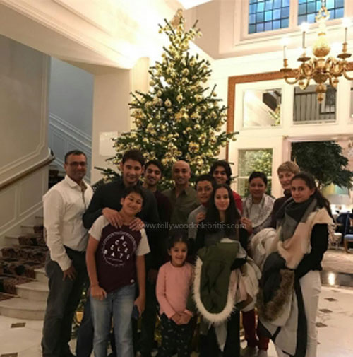 Is Mahesh Babu With His Family In Switzerland?