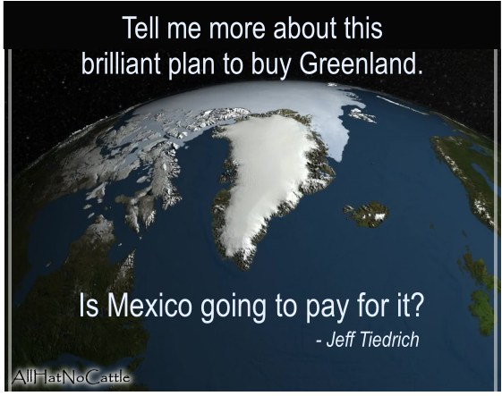 why does trump want to buy greenland