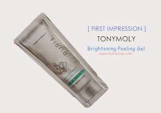 Tony Moly Brightening Peeling Gel