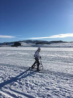 Nydelig skitur på Øygardsvannet