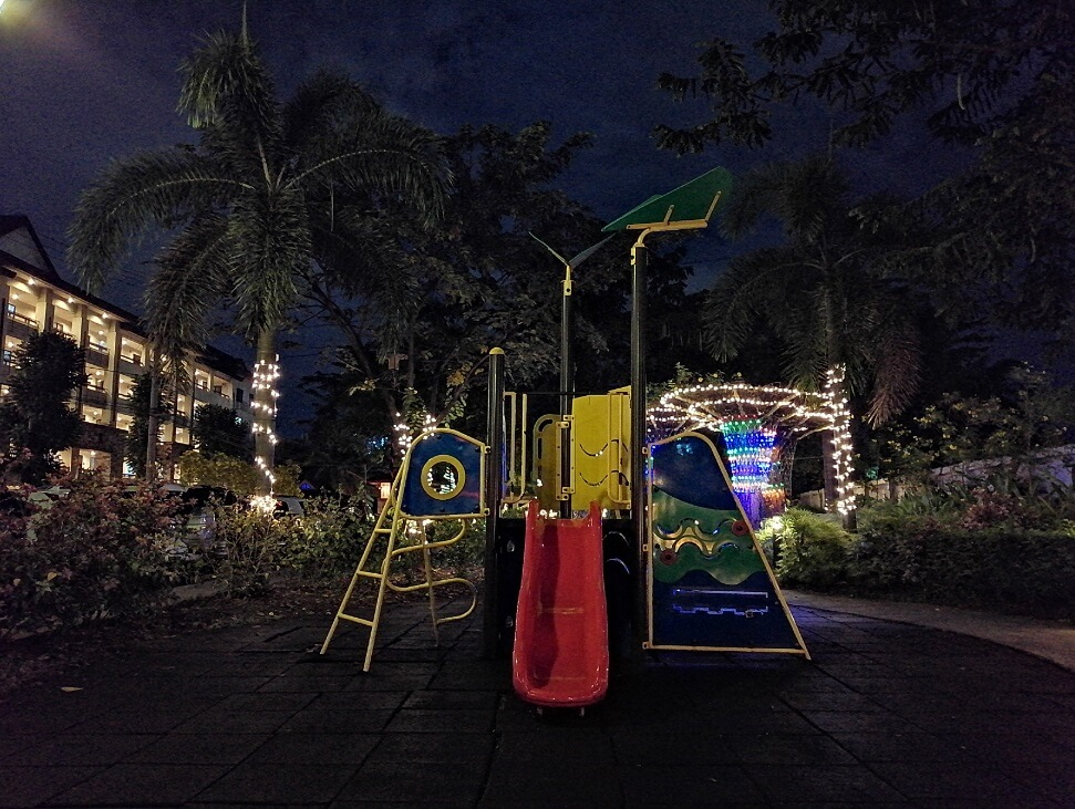 Huawei Y9 2019 Main Camera Sample - Night, Playground - Night Mode