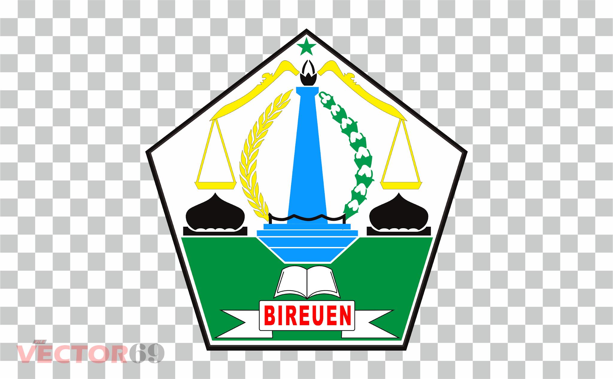 Kabupaten Bireuen Logo - Download Vector File PNG (Portable Network Graphics)