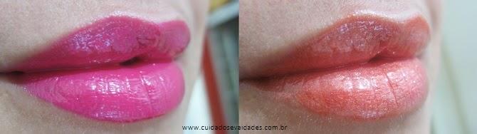 Natura Gloss Rosa Pink e Laranja