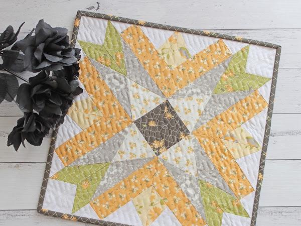 Soleil Mini Quilt PDF Pattern